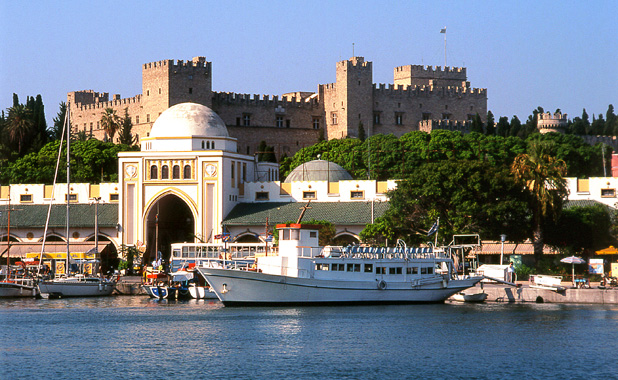 Yacht charter vacations including the Greek Island of Rhodes