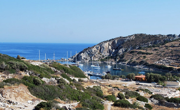 Yacht charter cruises including Knidos & Datca in Turkey