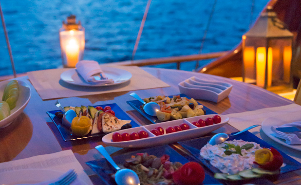 Fully crewed large yacht sailing vacations in Greece