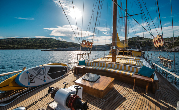 Large group sailing holidays in Aegean Turkey and the Greek Islands