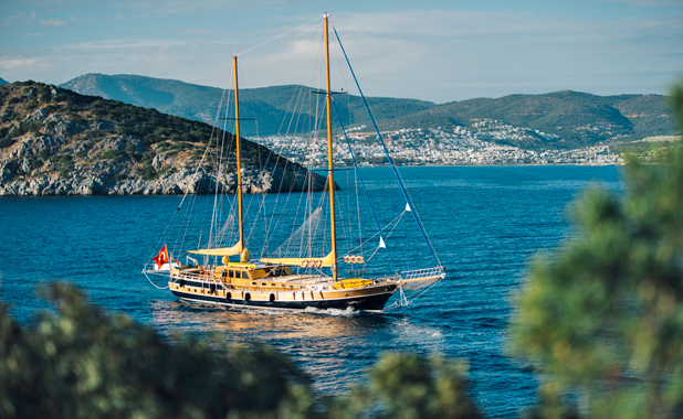 Turkish guley yacht holidays in the Greek Islands