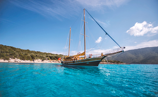 Private yacht charter for sailing holidays in Turkey