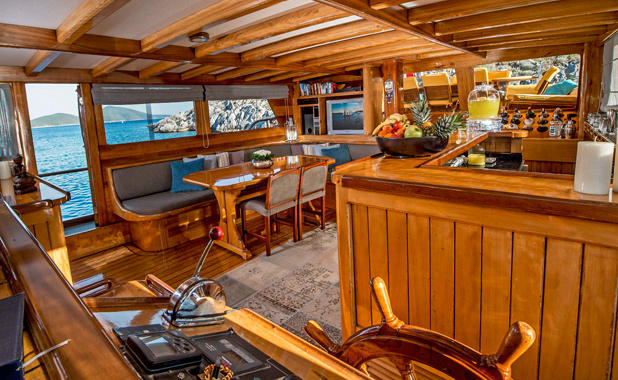 Luxury cabin charter yacht holidays in Turkey & Greek Islands