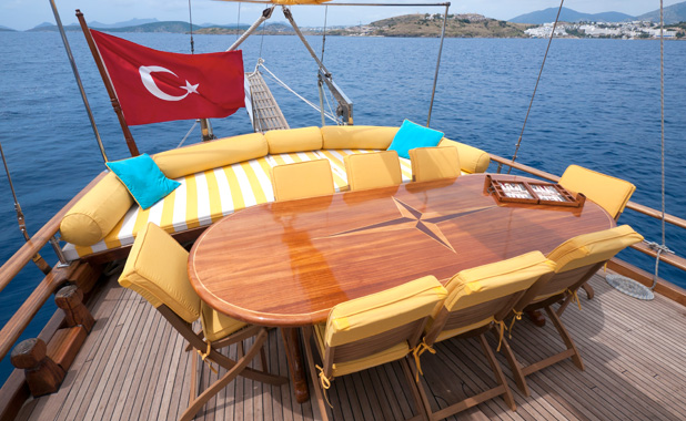 Yacht cruise vacation for 8 guests in Greece or Turkey
