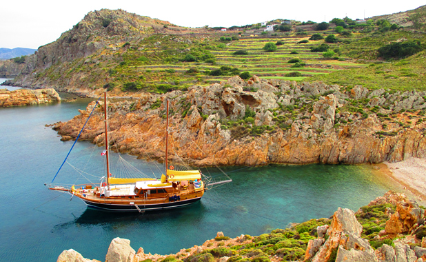 Turkish gulet yacht holidays in the Greek Islands