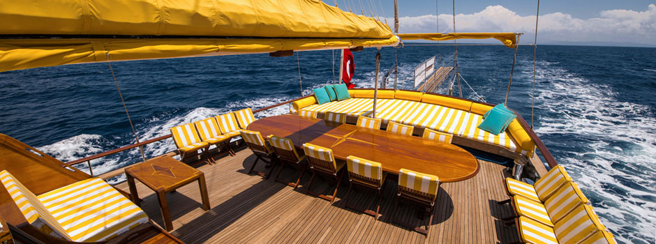Five Star Luxury Private and Luxury Cabin Charter Holidays in Turkey