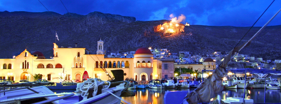 Greek Easter Passion Week Festivities on Kalymnos