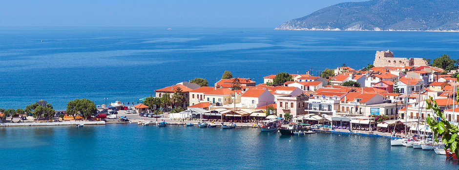 The Idyllic Greek island of Samos & the Harbor of Pythogorio