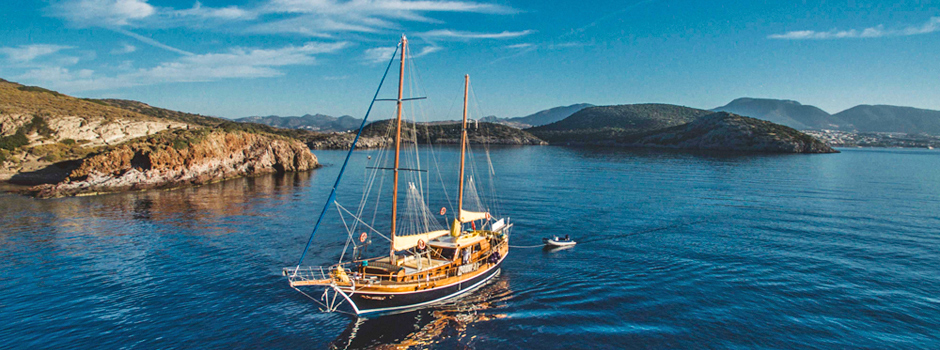 Explore the immaculate waters and absolute peace & tranquility of the Greek Islands