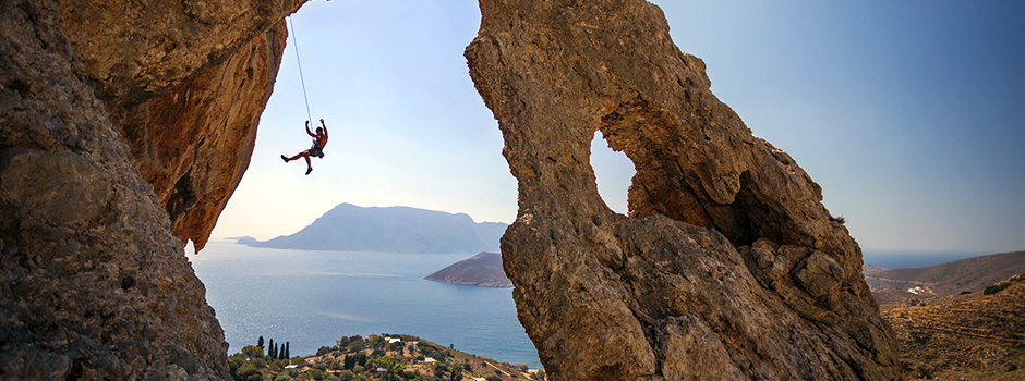 Kalymnos, the original Sponge Divers' Island & now International Rock climbing Destination